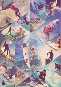 Radical surf art