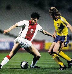 1986-1987_Ajax_Lokomotive_Leipzig Van Basten