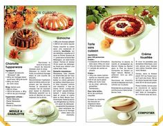 TUPPERWARE desserts sans cuisson