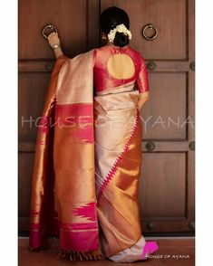 Wedding Saree Blouse Designs, Pattu Saree Blouse Designs, Blouse Designs Silk, Latest Saree Blouse Designs, New Saree Designs, Blouse Back Neck Designs, Blouse For Silk Saree, Designer Saree Blouses, Designer Blouse Patterns