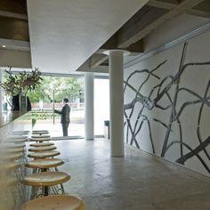 L'hôtel Habita de Mexico, de verre