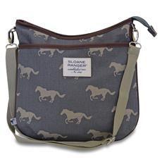 ef7a31d3de7b Grey Horse Large Crossbody Bag - Sloane Ranger Grey Crossbody Bag
