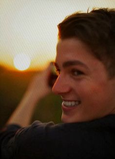 finn harries - a smile that can light up a whole star system....or decimate a field of unicorns.