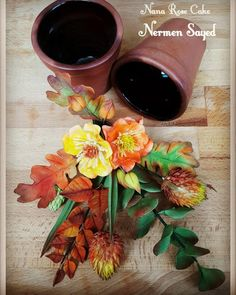 Autumn flowers by Nana Rose Cake