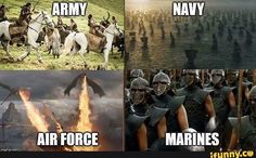 New Games Of Thrones Humor Memes Thoughts 67 Ideas Army Humor, Army Memes, Military Quotes, Military Humor, Military Love, Marine Memes, Military Brat, Game Of Thrones Funny, Hbo Game Of Thrones