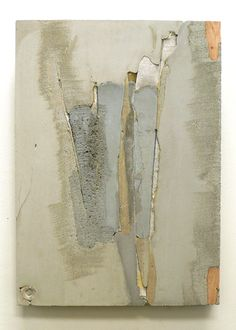 Marlies Hoevers Dark Secret, Concrete, Textile, Found Objects - inspiration for wall art paint. Cement Art, Concrete Art, Concrete Furniture, Polished Concrete, Abstract Expressionism, Abstract Art, Abstract Paintings, Modern Art, Contemporary Art