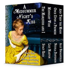 $20 Gift Card and Giveaway, Excerpt and Sale of A Midsummer Night's Kiss (Box Set)