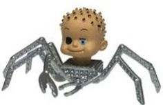 That really terrifying spider toy thing from <i>Toy Story</i>: