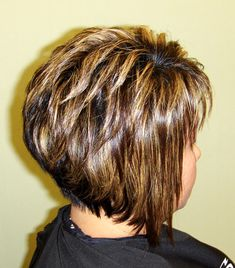 Haircuts, Coloring Hair, Hair Stylist Nataliya McGrew, Hair Salon in Everett WA Short Hair With Layers, Short Hair Cuts For Women, Medium Hair Cuts, Medium Hair Styles, Short Hair Styles, Short Stacked Hair, Layered Bob Hairstyles, Haircuts For Fine Hair, Cool Hairstyles