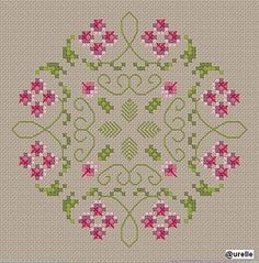 biscornu free cross stitch