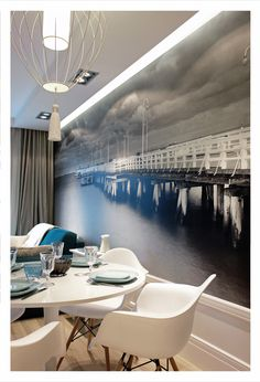love this photo mural. it adds a great view! cheers, dana