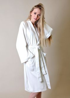 Wrap yourself in this fine and luxurious 100% certified organic cotton Interlock jersey bath & spa robe - pure, soft, naturally absorbent, silky smooth and nurturing to the skin, lightweight, comfortable, chemical free & hypoallergenic (White Color Robe). Premium organic cotton formulation for this bathrobe & spa robe feels nourishing to the skin, is perfectly balanced for comfort, fits a healthy and eco-conscious lifestyle. Made from sustainable organic cotton, this eco-friendly product is…
