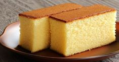 Una receta simple, rápida y muy sabrosa. ¡Vas a querer prepararla! Sponge Cake Recipes, Easy Cake Recipes, Sweet Recipes, Microwave Sponge Cake, Cake Au Lait, Chocolate Oats, Basic Cake, Oat Bars, Lemon Cheesecake