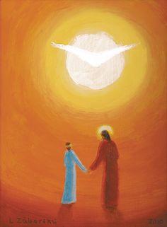 Hľadáte podobné dielo? Skúste vyhľadávanie podľa nasledovných kľúčových slov: maľba, Ježiš Kristus, duša, Svetlo, nebo, nádej, večný život