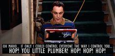 Sheldon and Mario.