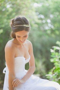 Gold Wedding Tiara Wedding Headband Bridal Tiara Bridal Headband Woodland Tiara Woodland Headband Woodland Wedding Bridal Hair Accessories