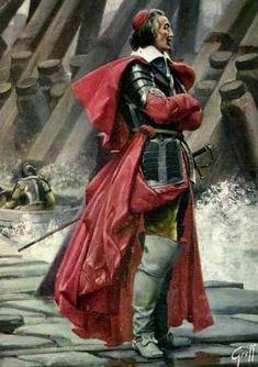 4 décembre 1642 : mort du  cardinal de Richelieu. Ici : le siège de La Rochelle