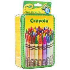 Crayola Set, Cute Notebooks For School, Cute School Supplies, Classroom Supplies, Crayon Storage, Hobby Supplies, Art Supplies, Kids Toy Shop, Ryan Toys
