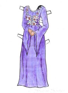 Guinevere Paper Doll - One of My Own - Sharon Souter - Picasa Webalbum
