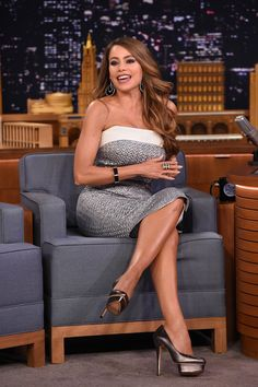 Sofia Vergara Visits 'The Tonight Show Starring Jimmy Fallon' at Rockefeller Center on September 20, 2016 in New York City.