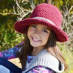 Crocheted Wanderlust Brim Hat