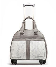 Take a look at this Gray Boho Chic 18'' Carry On by Hang Accessories on #zulily today! $110 !!