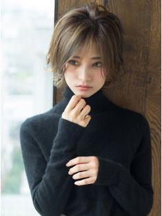 Japanese Short Hair, Asian Short Hair, Long To Short Hair, Short Hair With Layers, Girl Short Hair, Short Hair Cuts, Square Face Hairstyles, Wig Hairstyles, Medium Hair Styles
