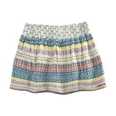 Billabong Skirts - Womens - Zuzu Vanilla Skirt ($35) ❤ liked on Polyvore