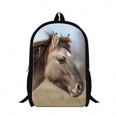 55ffd35469 Personalized animal horse backpacks for children