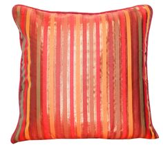 Striped Decorative Throw Pillow Cover 16 Inches x by TheHomeCorner, $19.00