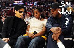 Prince & Pauletta & Denzel.