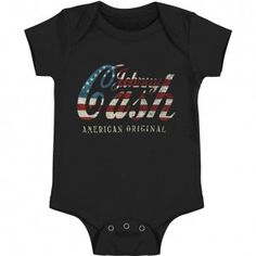 Johnny Cash Logo Bodysuit