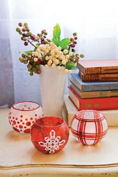 How to Make Decoupage Candle Holders - CraftStylish