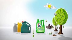 This animation for Valvoline explains the benefits of using recycled NextGen Motor oil in consumer cars above any other competitors product.The animation is made by Oxi-design on behalf of VIS Communications.