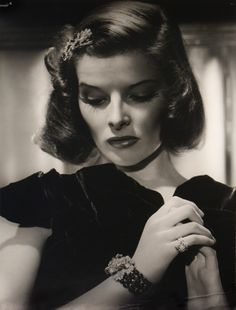 Katharine Hepburn - 1938 - Photo by George Hurrell