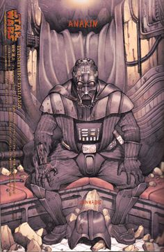 Takeshi Obata e outros em suas devoções por Star Wars.