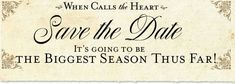 When Calls the Heart: Season 5 - February 18 on Hallmark Channel at 8pm central! SO EXCITED FOR THIS NEW SEASON!!!!