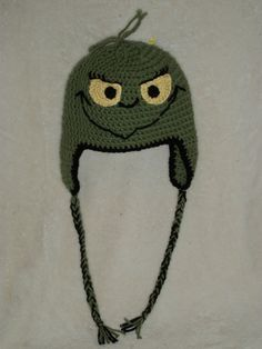 The Grinch Baby Hat Ready to Ship by playinfootsie on Etsy, $20.00