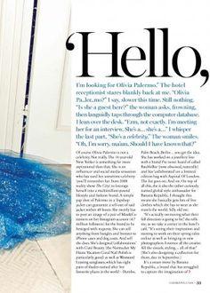 Olivia Palermo for Cosmopolitan UK Magazine June 2017