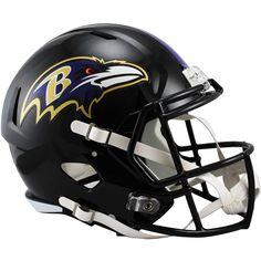 Image detail for -Baltimore Ravens NFL Revolution Football Helmet by Riddell Nfl Football Helmets, Arena Football, Sports Helmet, Nfl Baltimore Ravens, Helmet Logo, Nfl Logo, Team Logo, National Football League, Pittsburgh Steelers