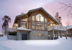 UTSU log house from Honka