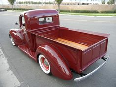 Want This 1941 ford in your Garage ?  This is one Fancy 1941 Pickup Truck ! Lowered , nice color too.