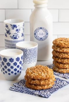 These Crispy, Chewy Carolina Coconut Cookies have moist chewy interiors, crisp buttery edges and lots of sweet, delicious coconut flavor! #coconutcookies, crispychewycookies, #onebowlnomixer Chocolate Toffee, Chocolate Cookies, Toffee Bits, Coconut Cookies, Thing 1, Valentine Cookies, Chip Cookies, Sugar Cookies, The Fresh