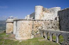 The Crusader castle Crac des Chevaliers