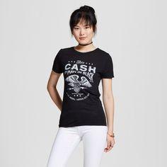 6d3bc793eb1 Women s Johnny Cash® Man In Black T-Shirt Black - Zion Rootswear (Juniors )