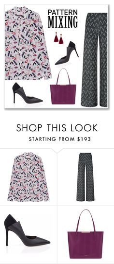 """""""Mixing Patterns"""" by rasc2016 ❤ liked on Polyvore featuring M Missoni, WtR London, Ted Baker, Kate Spade, polyvorecontest, patternmixing, polyvorefashion and mixingpattern"""