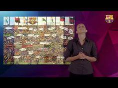 ▶ Himne del Futbol Club Barcelona en LSC, llengua de signes catalana i subtitulat en català - YouTube
