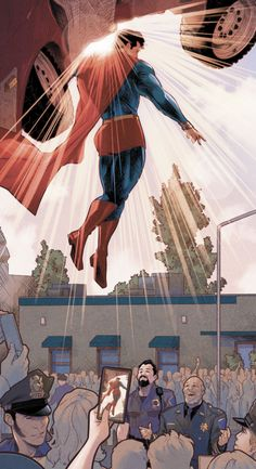 Superman Saves the Day in Naomi Jamal Campbell Marvel Vs, Marvel Comics, Arte Dc Comics, Superman Artwork, Batman Vs Superman, Superman Stuff, Comic Book Artists, Comic Book Characters, Comic Books Art