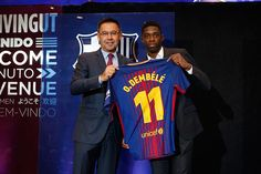 ¡Por fin! Ousmane Dembélé fue presentado por el Barcelona FC #Deportes #Fútbol Neymar, Messi, Barcelona, Sports News, Soccer, Mexico, Places, Blog, Hs Sports