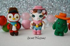 Sheriff Callie Cake Toppers.